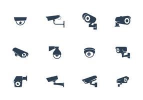 CCTV Cameras Vector