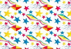 Free Vector Junina Kite Background