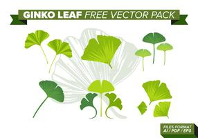 Ginko Leaf Free Vector Pack