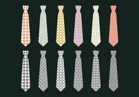 Vector Icon Set Tie