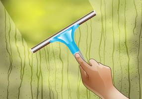 Window Cleaning Vector