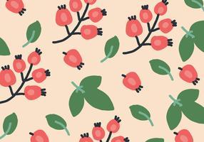 Organic Rosehip Pattern