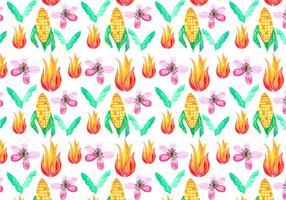 Free Vector Junina Corn Background