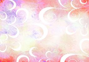 Pink Vector Pixie Dust Background