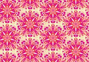 Free Vector Colorful Mandala Pattern