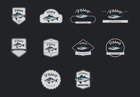 Mackerel Template Icon Set