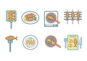Free Fish Meal Vector