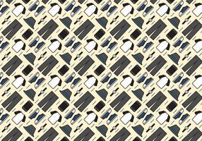 Raglan T-Shirt Outfit Pattern Vector