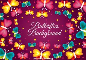 Butterflies Background
