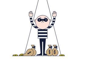 Free Thief Vector