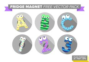 Fridge Magnet Free Vector Pack