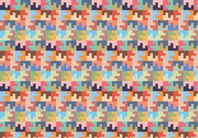 Pastel Square Random Pattern