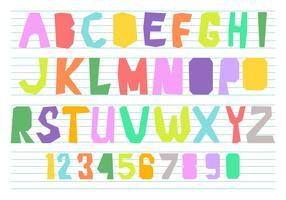 Fun Alphabet Vector