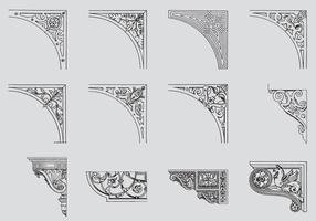 Scrollwork Corners
