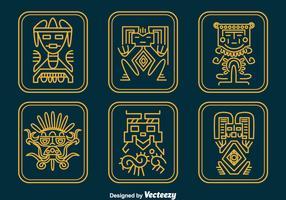 Inca Relics Vector Set