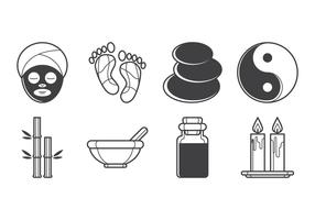 Free Spa Icon Vector Pack