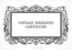 Free Vector Vintage Engraved Cartouche