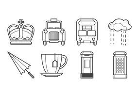 Free British Icon Vector Pack
