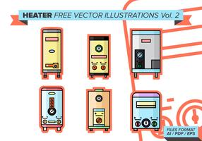 Heater Free Vector Illustrations Vol. 2