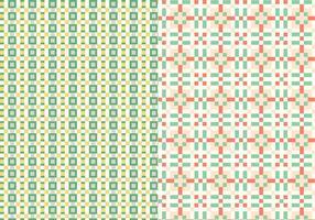 Geometric Stitch Pattern