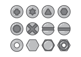 Nailhead icon sets