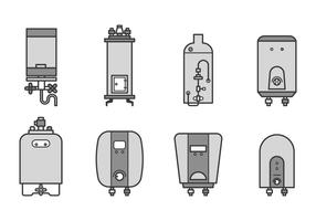 Free Water Heater Vector