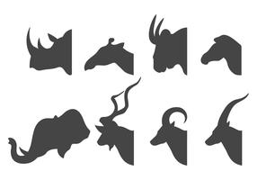 Animal Head Silhouette