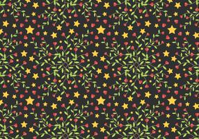 Free Star Vine Background Vector