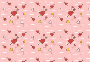 Free Love Background Vector 1