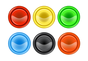 Free Arcade Button Vector