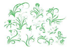 Free Vintage Floral Ornament Vector