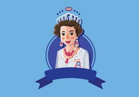 Queen Elizabeth illustration