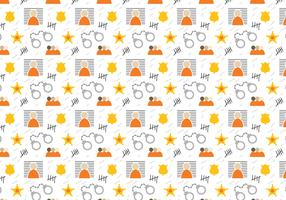 Free Jail Pattern Vector