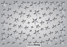 Gray Background With Stars And Shadows