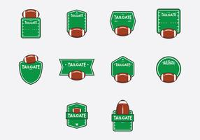 Tailgate Template Icon Set