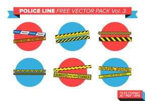 Police Line Free Vector Pack Vol. 3