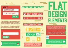 Free Web Design Vector Elements