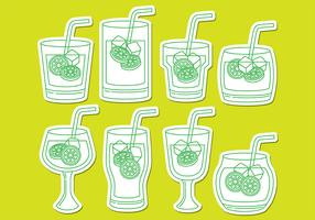 Caipirinha Drink Icons