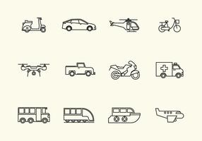 Free Vehicle Vector Icon