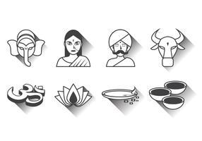 Free India Icon Vector