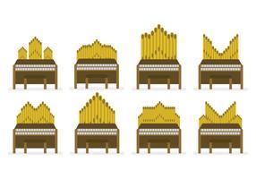 Free Pipe Organ Vector Set
