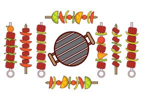 Free Brochette Vector