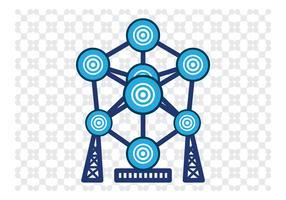 Atomium Vector Art