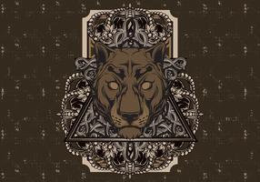 Vintage Panther Poster