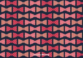 Bow Ties Background Vector