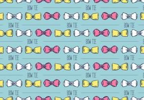 Hand Drawn Bow Tie Background