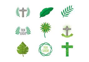 Free Palm Sunday Icons Vector