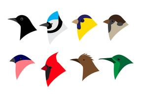 Free Bird Head Icon Vector