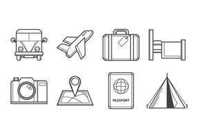 Free Travelling Icon Vector