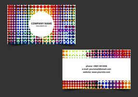 Free Vector Bright Business Card
